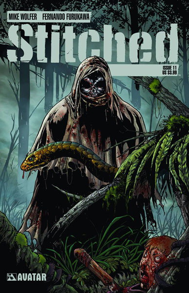 Image: Stitched #11 - Avatar Press Inc