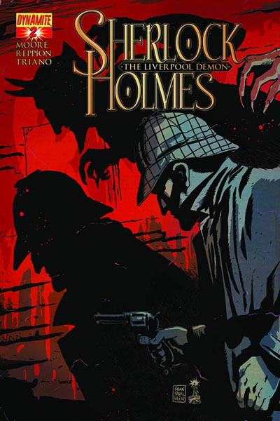 Image: Sherlock Holmes: The Liverpool Demon #2 - D. E./Dynamite Entertainment