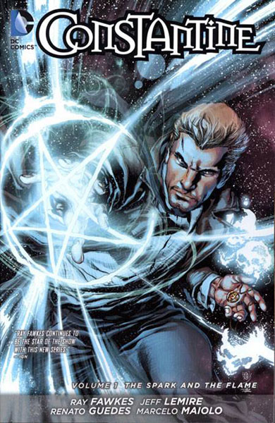 Image: Constantine Vol. 01: The Spark and the Flame SC  - DC Comics