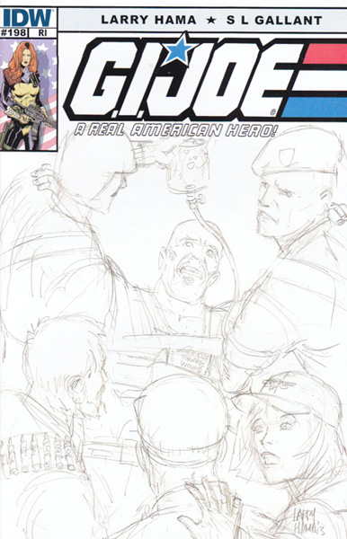 Image: G.I. Joe: A Real American Hero #198 (10-copy incentive cover) - IDW Publishing