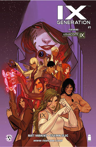 Image: IXth Generation #1 (variant incentive cover - Sejic) (5-copy) - Image Comics - Top Cow