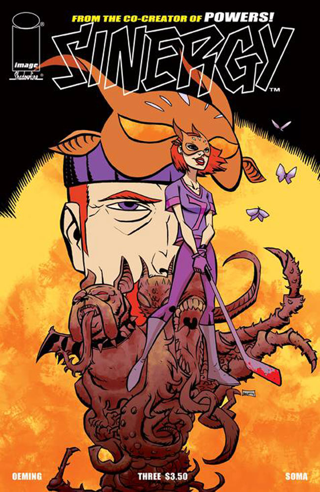 Image: Sinergy #3 (cover A - Oeming) - Image Comics