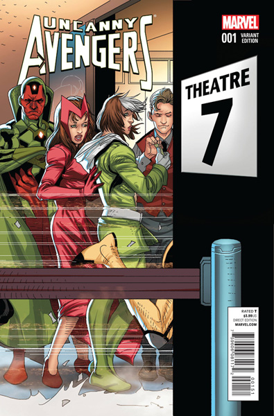 Image: Uncanny Avengers #1 (Welcome Home variant cover - 00151) - Marvel Comics