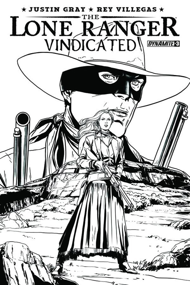 Image: Lone Ranger: Vindicated #3 (variant incentive cover - Laming) (10-copy) - Dynamite