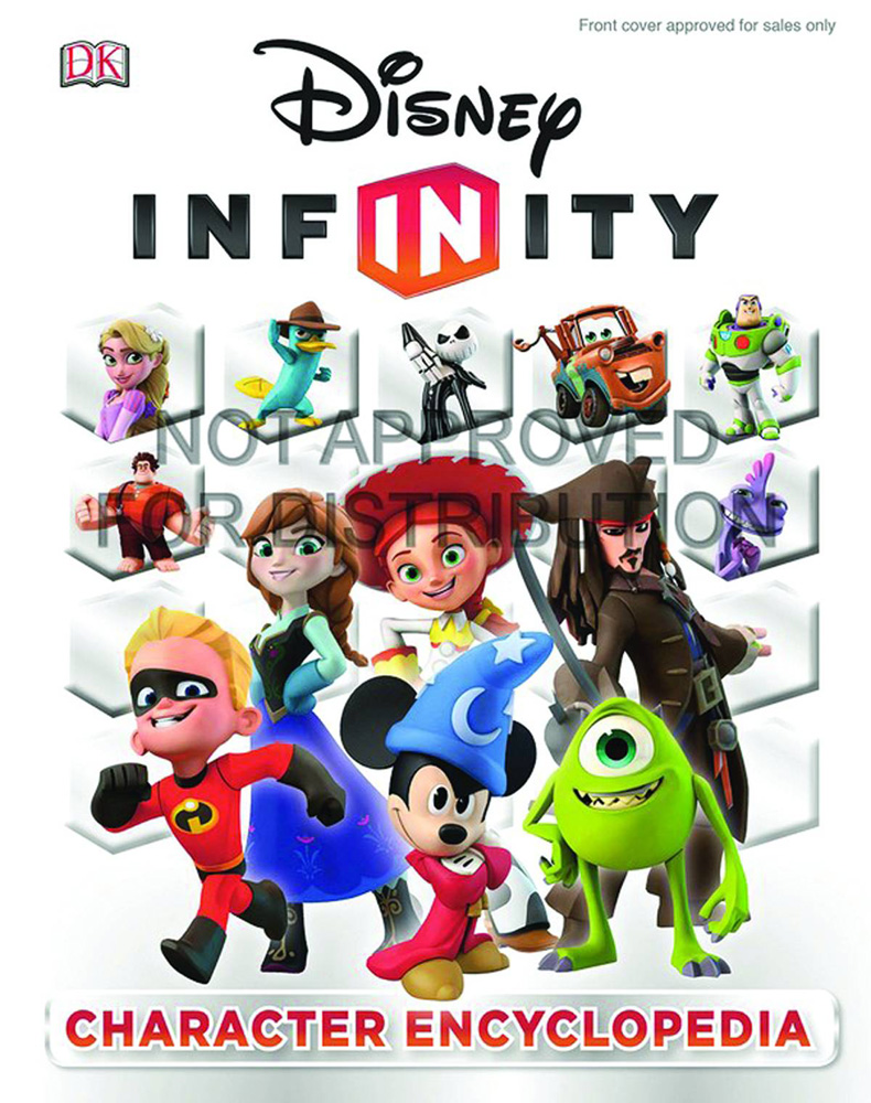 Image: Disney Infinity: Character Encyclopedia HC  - DK Publishing Co