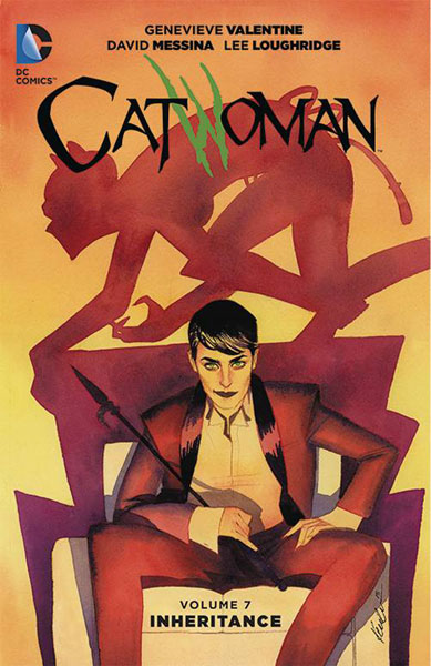 Image: Catwoman Vol. 07: Inheritance SC  - DC Comics