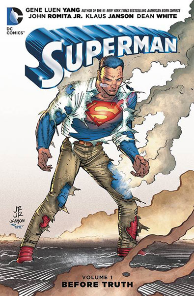 Image: Superman Vol. 01: Before Truth HC  - DC Comics