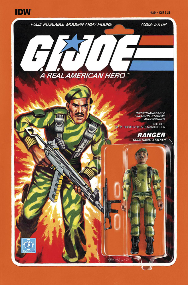 Image: G.I. Joe: A Real American Hero: Cobra World Order Part 6 #224 (subscription cover - Toy) - IDW Publishing