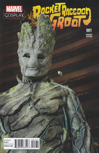 Image: Rocket Raccoon and Groot #1 (Cosplay variant cover - 00131) - Marvel Comics
