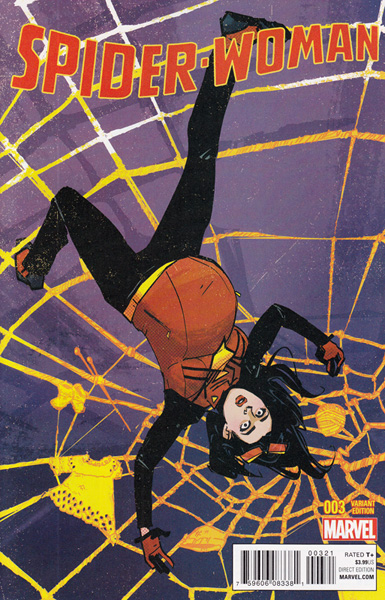 Image: Spider-Woman #3 (variant cover - Wu) - Marvel Comics