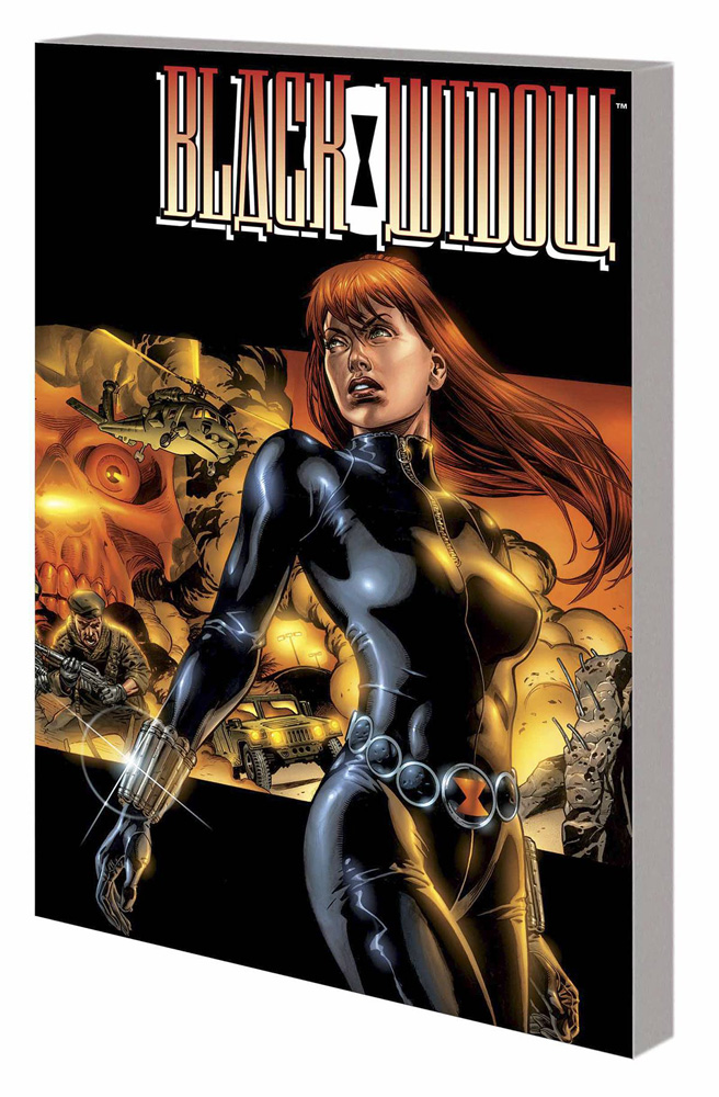 Image: Black Widow: The Itsy-Bitsy Spider SC  - Marvel Comics