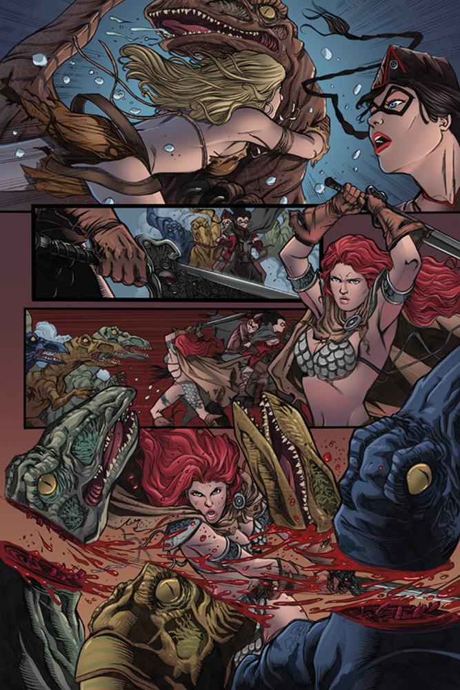 Swords of Sorrow: The Complete Saga SC  - Dynamite
