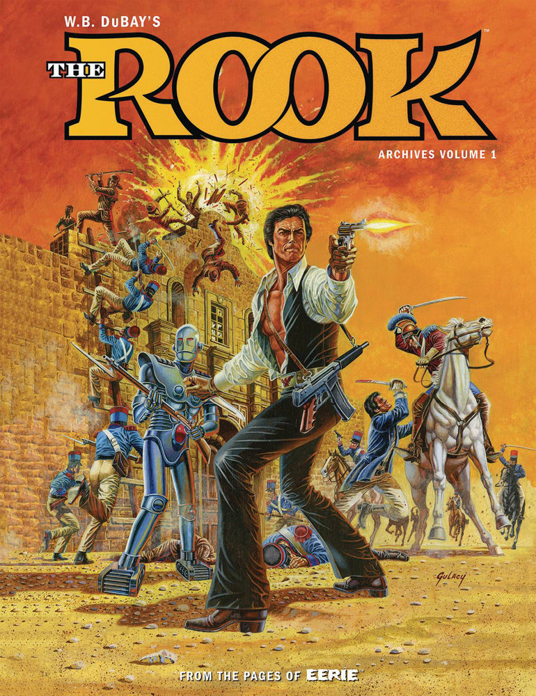 Image: William B. DuBay's The Rook Archives Vol. 01 HC  - Dark Horse Comics