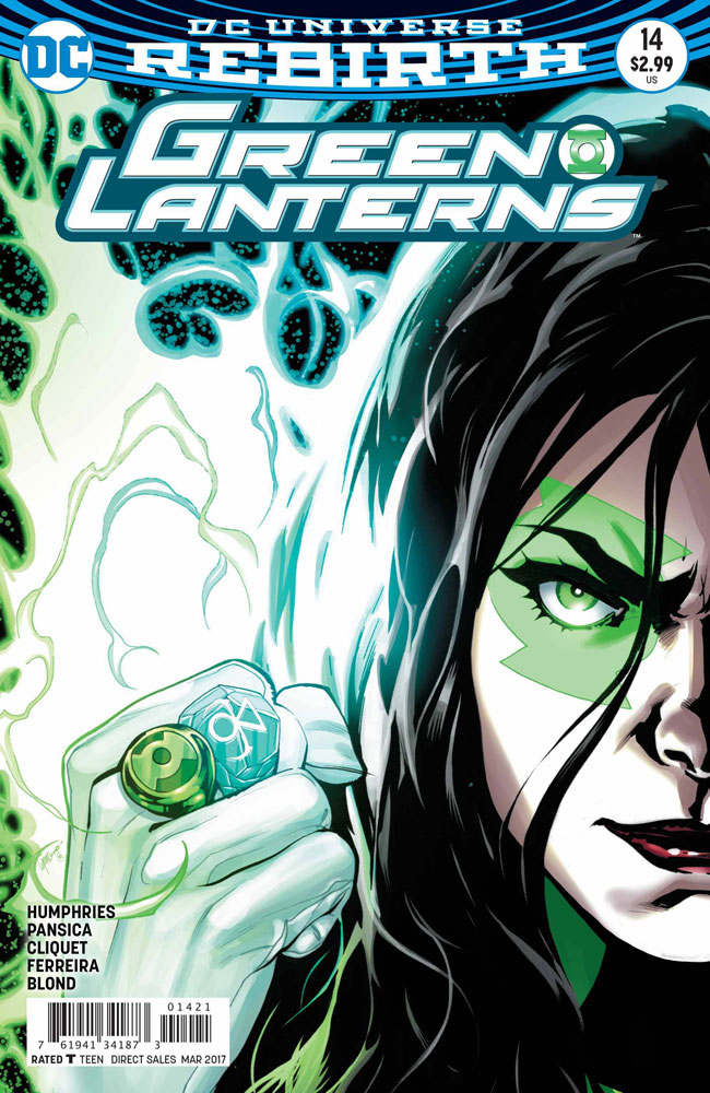 Image: Green Lanterns #14 (variant cover - Emanuela Lupacchino)  [2017] - DC Comics
