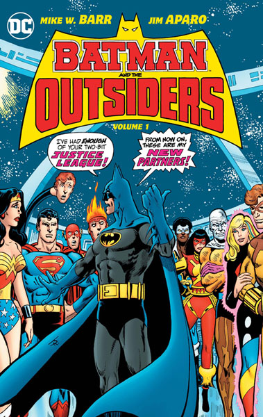 Batman and the Outsiders Vol. 1 HC