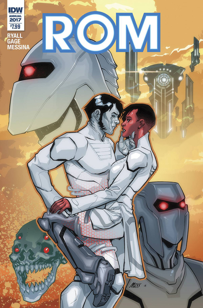 Image: Rom Annual 2017   [2017] - IDW Publishing