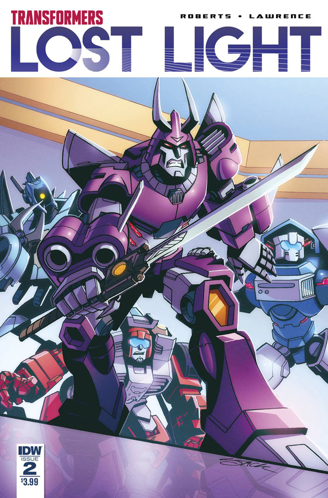 Image: Transformers: Lost Light #2  [2017] - IDW Publishing