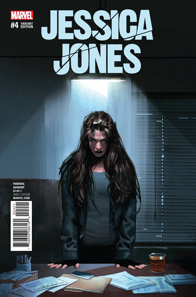 Image: Jessica Jones #4 (variant cover - Dekal)  [2017] - Marvel Comics