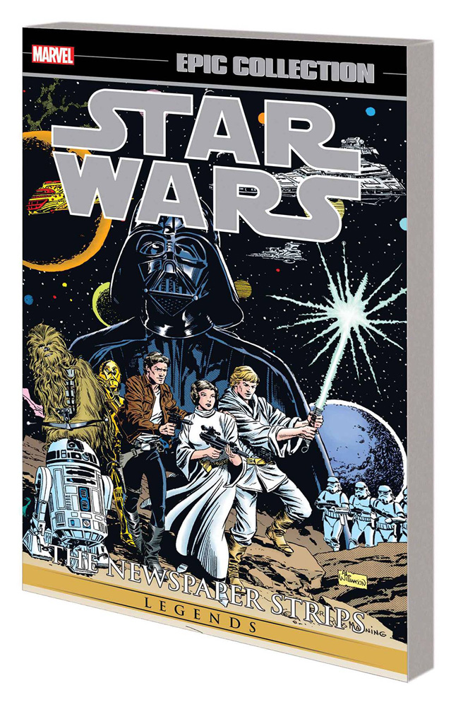 Image: Star Wars Legends Epic Collection: The Newspaper Strips Vol. 01 SC  - Marvel Comics
