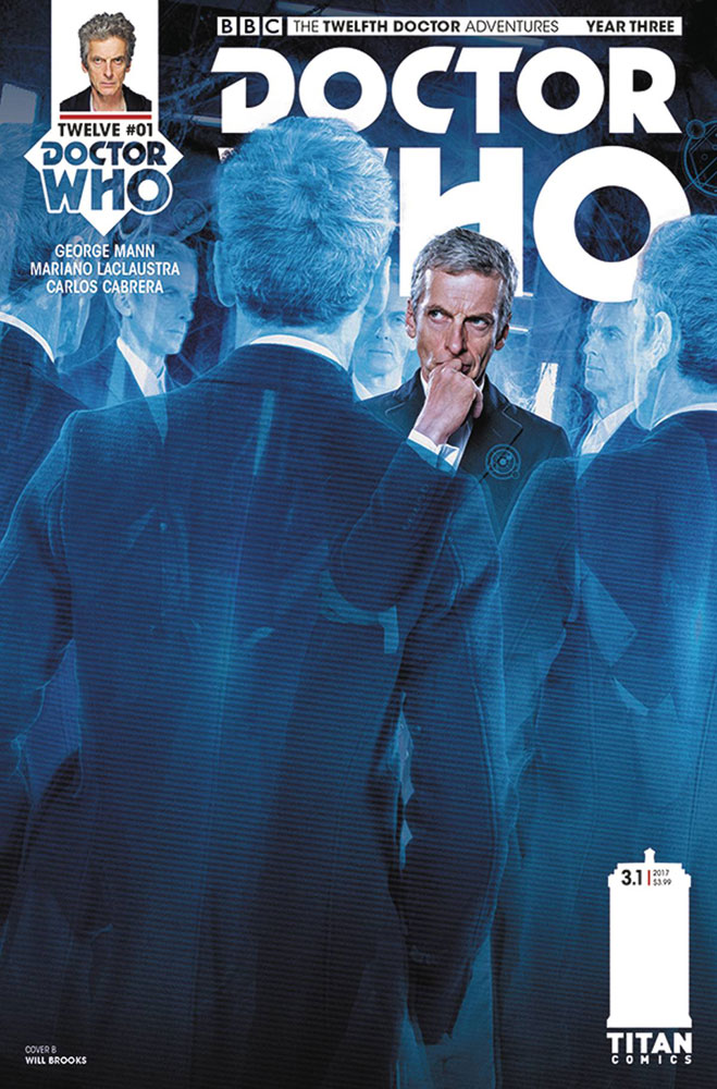 Image: Doctor Who: The 12th Doctor Year Three #1 (cover B - Brooks)  [2017] - Titan Comics