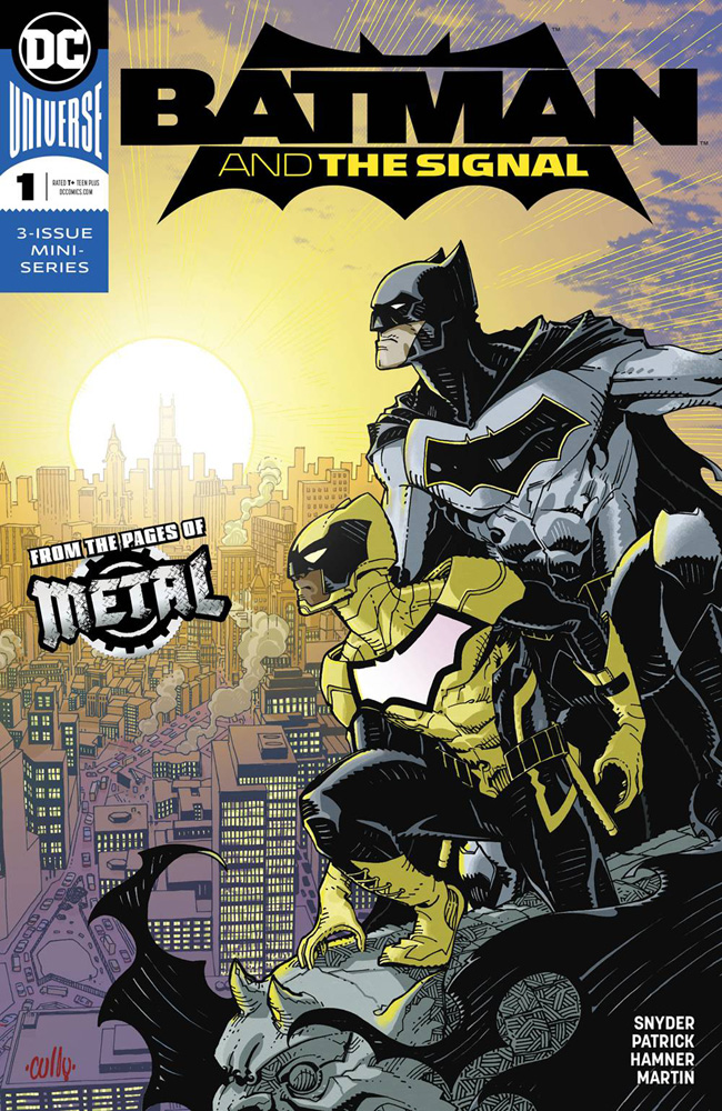 Image: Batman & the Signal #1  [2018] - DC Comics
