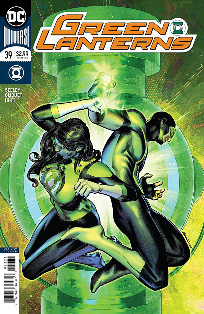 Image: Green Lanterns #39 (variant cover - Brandon Peterson)  [2018] - DC Comics