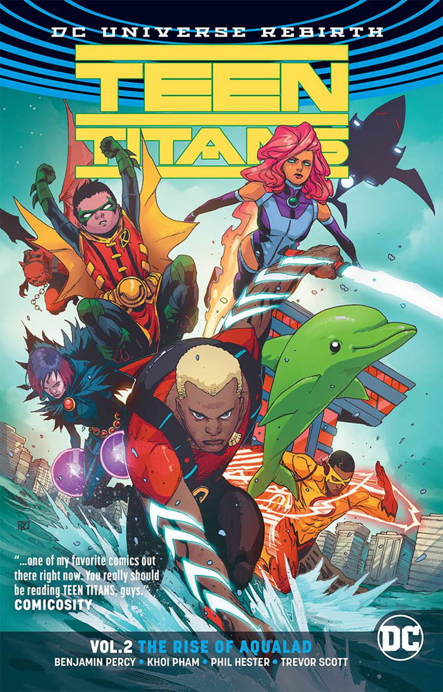 Image: Teen Titans Vol. 02: The Rise of Aqualad SC  - DC Comics