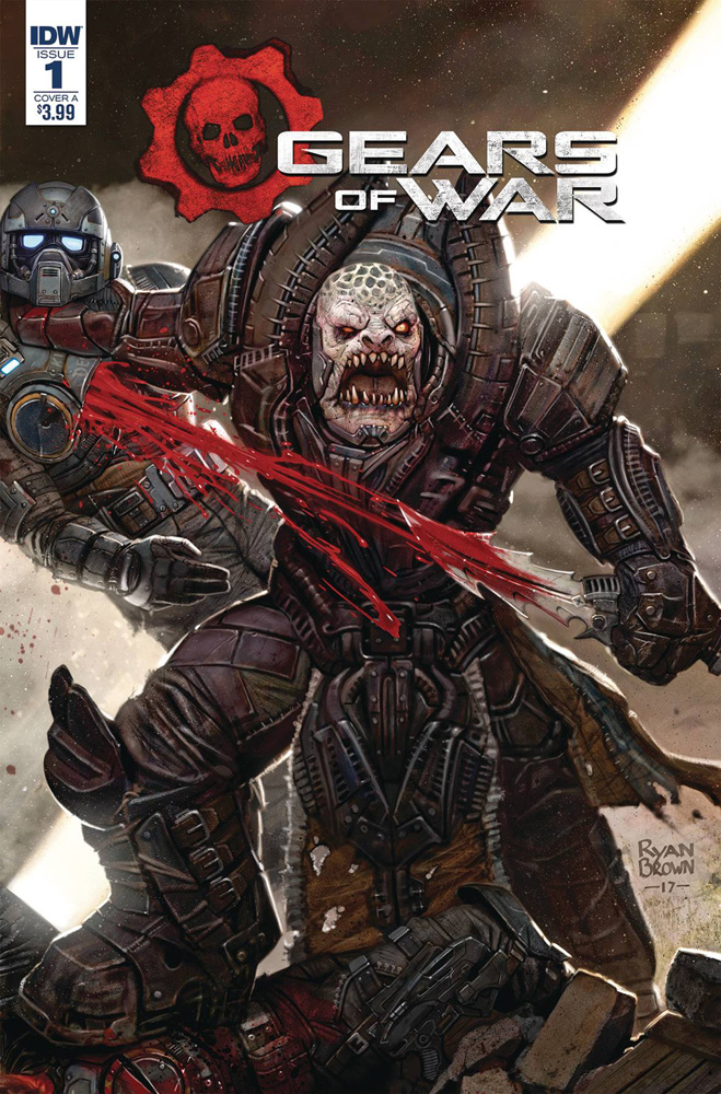 Image: Gears of War: The Rise of Raam #1 (cover A - Brown)  [2018] - IDW Publishing