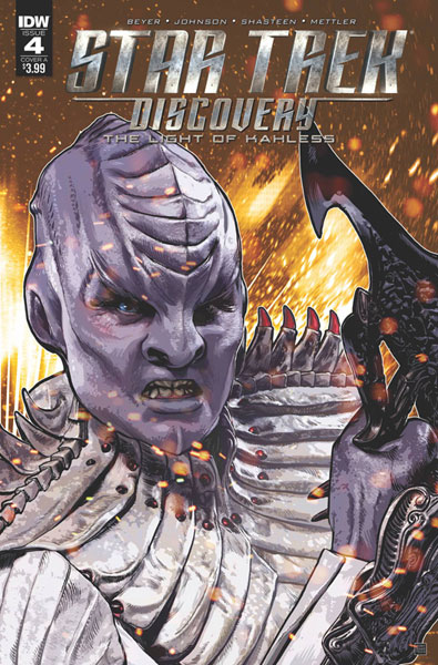 Image: Star Trek: Discovery: The Light of Kahless #4 (cover A - Shasteen)  [2018] - IDW Publishing