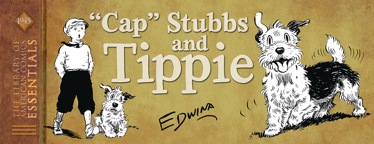Image: Library of American Comics Essentials: 'Cap Stubbs & Tippie - 1945 HC  - IDW Publishing