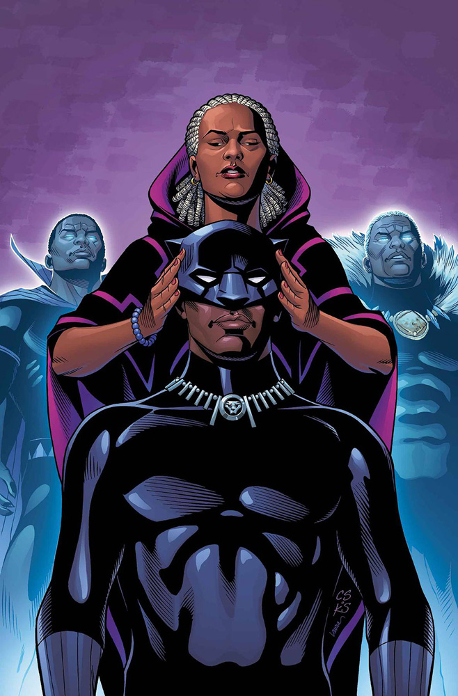 Image: Rise of the Black Panther #1 (Legacy) (variant cover - Sprouse)  [2018] - Marvel Comics