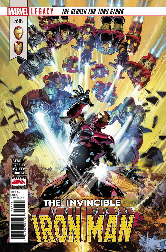 Image: Invincible Iron Man #596 (Legacy)  [2018] - Marvel Comics