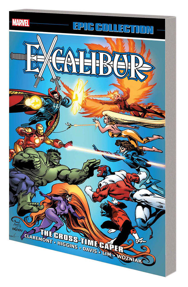 Image: Excalibur Epic Collection: The Cross-Time Caper SC  - Marvel Comics