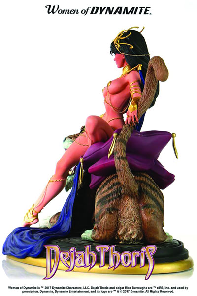 Women of Dynamite Diorama: Dejah Thoris by J. Scott Campbell  - Dynamite