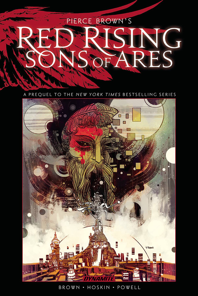 Image: Pierce Brown's Red Rising: Sons of Ares Vol. 01 HC  - Dynamite