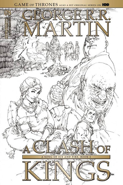 Image: George R. R. Martin's A Clash of Kings #8 (cover D incentive - Rubi) (15-copy)  [2018] - Dynamite