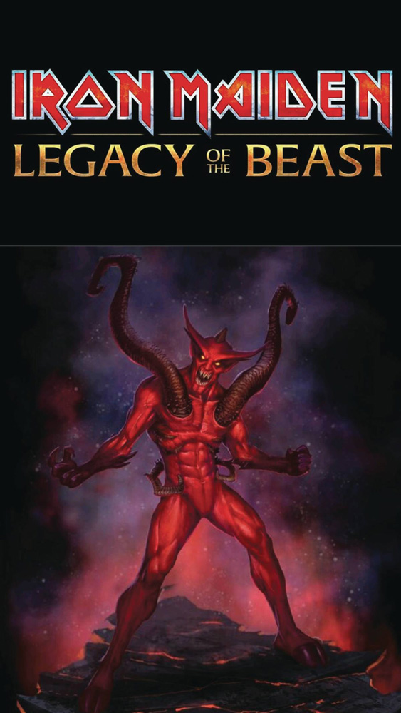 Image: Iron Maiden: Legacy of the Beast #4 (cover C - Navigator Games)  [2018] - Heavy Metal Magazine