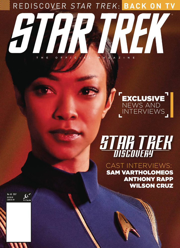 Image: Star Trek Magazine #65 (newsstand cover) - Titan Comics