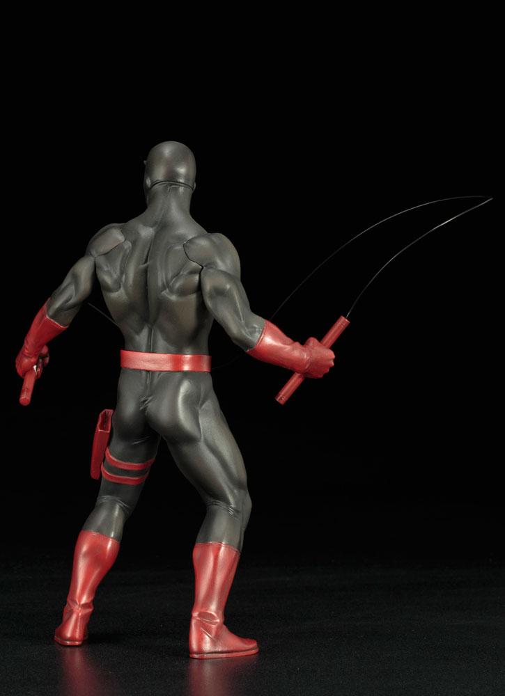Marvel Defenders Series ArtFX+ Statue: Daredevil  (Black Suit) - Koto Inc.