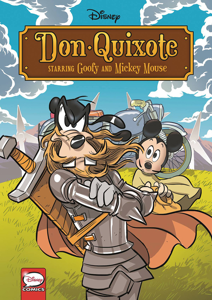 Image: Disney Don Quixote Starring Goofy and Mickey Mouse SC  - Dark Horse Comics