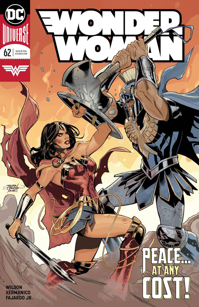 Image: Wonder Woman #62  [2019] - DC Comics