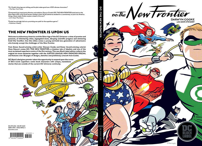 DC: The New Frontier SC  [Black Label edition]  - DC Comics