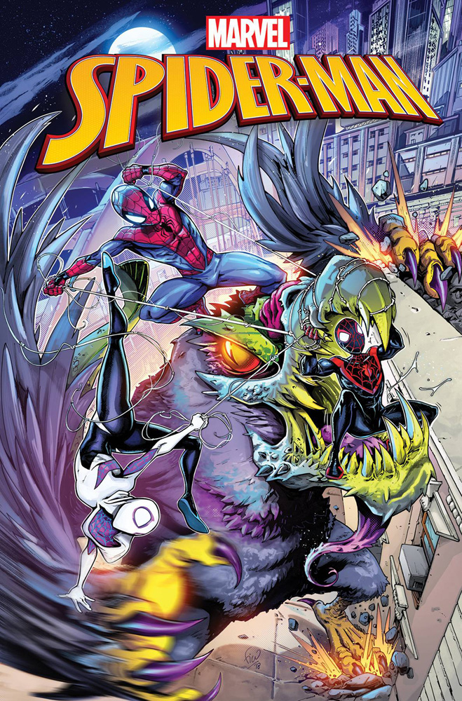 Image: Marvel Action: Spider-Man #3 (main cover - Ossio) - IDW Publishing