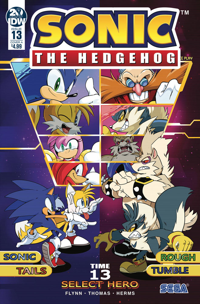 Image: Sonic the Hedgehog #13 (cover A - Thomas) - IDW Publishing