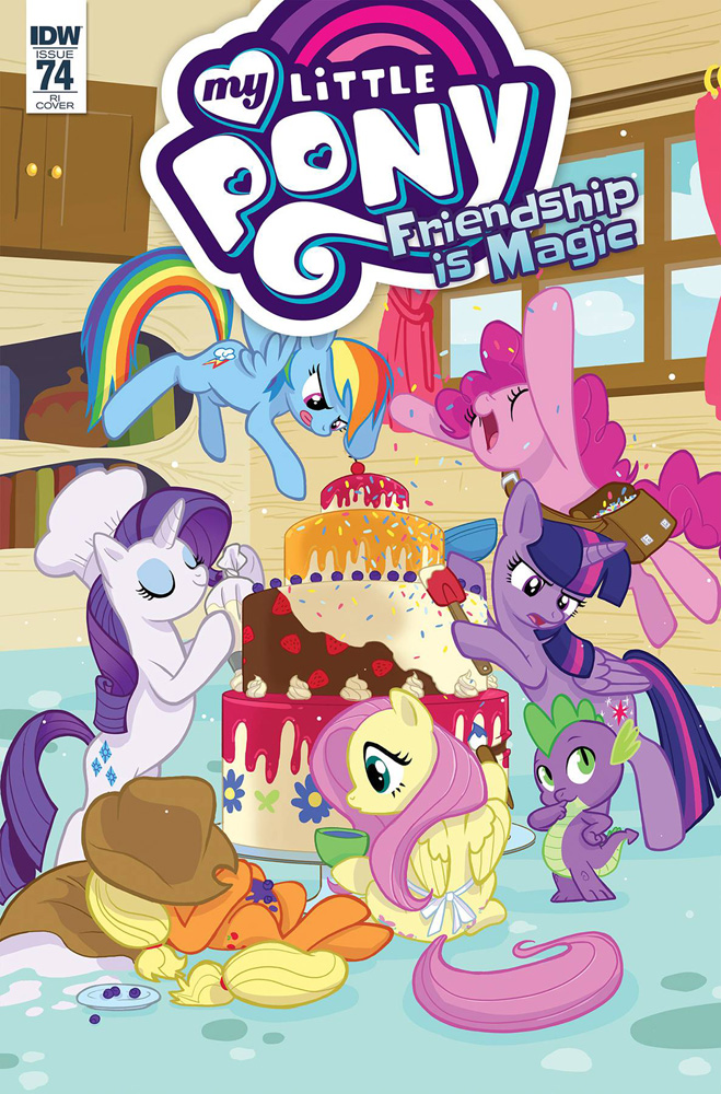 Image: My Little Pony: Friendship Is Magic #74 (incentive cover - Souvanny) (10-copy) - IDW Publishing