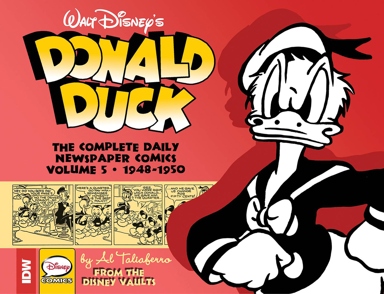 Image: Walt Disney's Donald Duck: The Complete Daily Newspaper Comics Vol. 05 - 1948-1950 HC  - IDW Publishing
