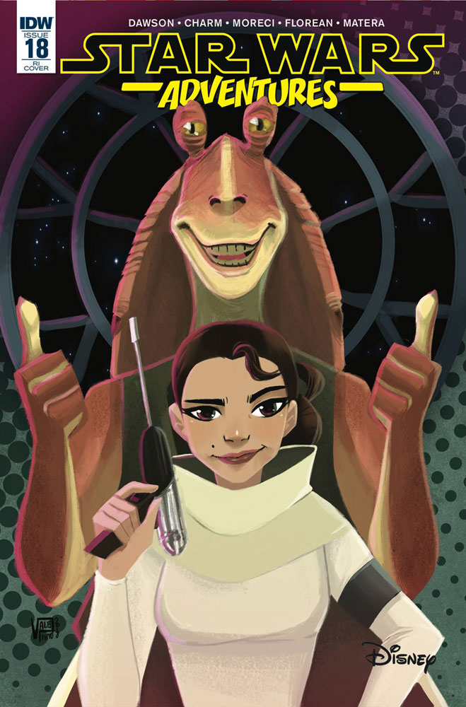 Image: Star Wars Adventures #18 (incentive cover - Pinto) (10-copy)  [2019] - IDW Publishing