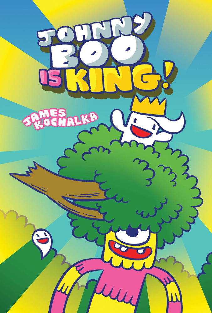 Image: Johnny Boo Is King! HC  - IDW - Top Shelf