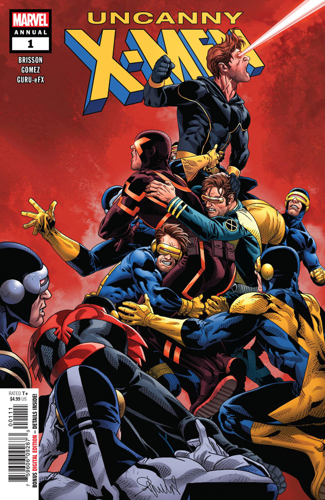 Image: Uncanny X-Men Annual #1 - Marvel Comics