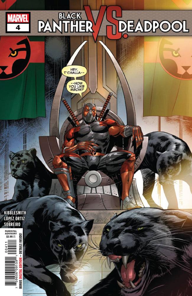 Black Panther vs. Deadpool #4